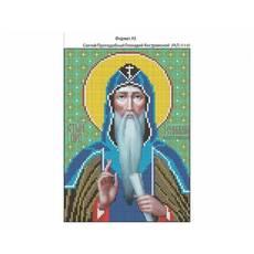 И-146  Святой Геннадий Костромской 16х22