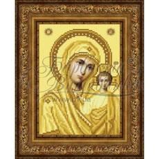 TO063ан1622  Казанская Икона Божией Матери 16 см x 22 см