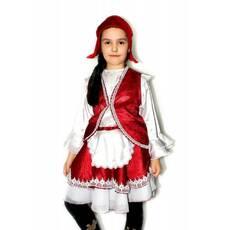 Карнавальный костюм Красная шапочка 1