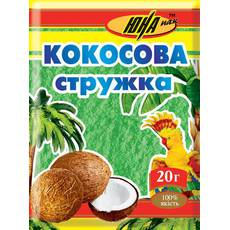Кокосовая стружка зеленая, 20 г