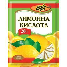Лимонная кислота, 20 г