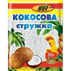 Кокосовая стружка белая, 20 г