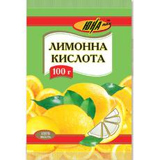 Лимонная кислота, 100 г