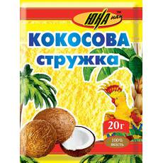 Кокосовая стружка желтая, 20 г