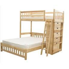 Кровать для троих «Кароль» (дерево)