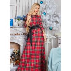 cd584d4693240f Довга сукня максі в клітину - Товари - Жіночий одяг замовити через ...