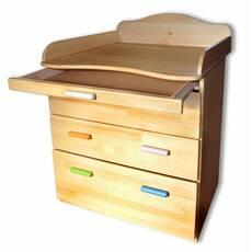 Комод деревянный с пеленальным столиком