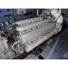 Двигун 12ЧСН 18/20 (з реверс-редуктором), ВАТ Зірка, Ленінград