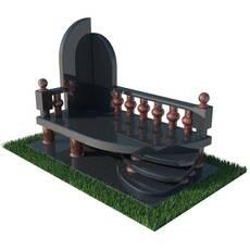 Гранитный надгробный комплекс
