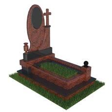 Гранітний надгробний пам'ятник
