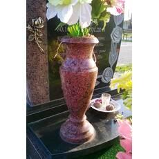 Гранітна ваза лізник 30 см