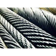 Канат из нержавеющей стали  ДИН 3055 (ГОСТ 3066-80) 1,00 мм,  Конструкция 7х7