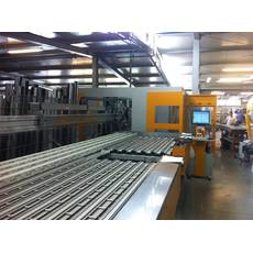Пильно обрабатывающий центр Federchen BSA 240 на 240 окон в смену + центр обработки ПВХ и стали Federchen SBZ 150G