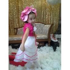 Карнавальний костюм Півонія рожева