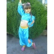 Карнавальний костюм Шахерезада (блакитний)