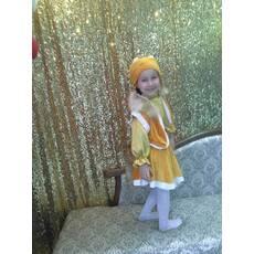 Карнавальный костюм Лисы (отделка натуральным мехом лисы)