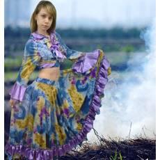 Карнавальний костюм Циганки (фіолетовий)