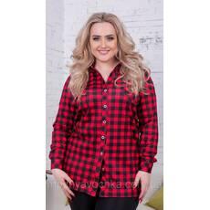 d69c65b8d51 Женская свободная рубашка батал - Товары - Интернет-магазин ...