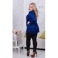 Жіноча трикотажна сорочка великого розміру - Товари - Інтернет ... d6089015636c6