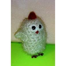 Півник (курча), в'язана авторська іграшка