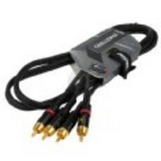 Proel Challenge CHLP 250 LU15 кабель, 2х RCA - 2х RCA, длина 1,5м