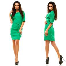 Модель - 182 (плаття), зелений