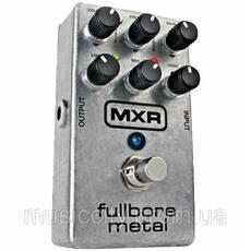 Jim Dunlop M116 MXR Fullbore Metal педаль для гітари, ефект - Distortion