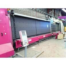 Склопакетна лінія Lisec 1600 Х 2500 з газ пресом і роботом герметизації