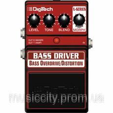 Digitech XBD педаль для бас-гитары, ефект - Overdrive