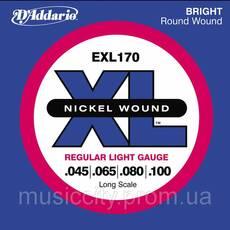 Струны D'Addario EXL170