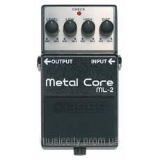 Boss ML2 педаль для гітари, ефект - Metal Core