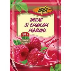 Желе со вкусом малины, 80 г