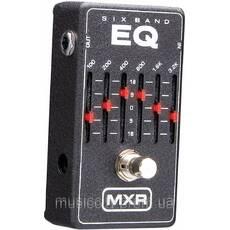 Jim Dunlop M109 MXR 6 band EQ педаль для гітари, ефект - 6-ти смуговий еквалайзер