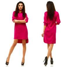 Модель - 181 (платье), малиновый цвет
