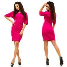 Модель - 182 (платье), малиновый