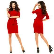 Модель - 182 (плаття), червоний