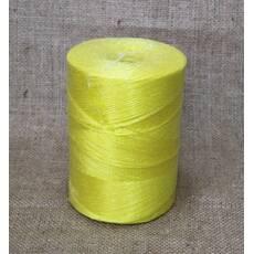 Шпагат поліпропіленовий жовтий, 1200 метрів / бобіна, купити