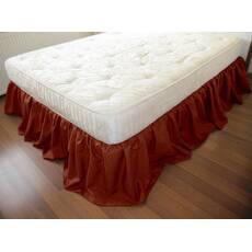 Подзор на кровать Рюши Модель 4 Винный