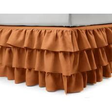 Підзор на ліжко Рюші Модель 8 Медовий
