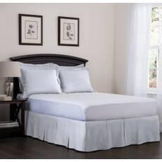 Юбка для кровати Белая Модель 5 строгий Мodern