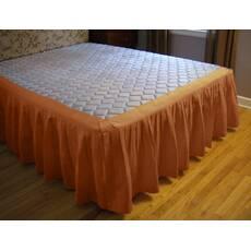 Подзор для кровати Складки Модель 4 Медовый