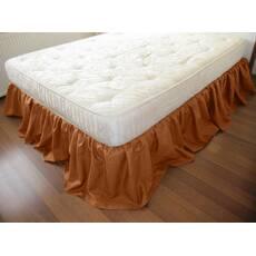 Подзор на кровать Рюши Модель 4 Медовый