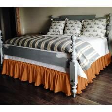 Подзор на кровать Рюши Модель 2 Медовый