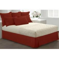 Юбка для кровати Винная Модель 7 строгий Мodern