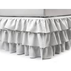 Підзор на ліжко Рюші Модель 8 Білий