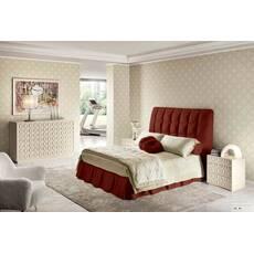 Подзор для кровати Складки Модель 3 Винный