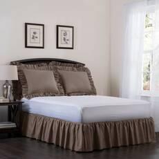 Подзор на кровать Рюши Модель 7 Порох