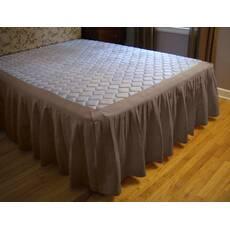 Подзор для кровати Складки Модель 4 Порох