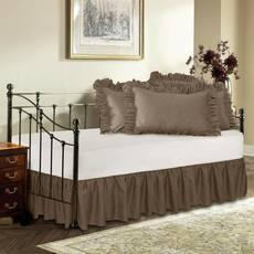 Подзор на кровать Рюши Модель 1 Порох