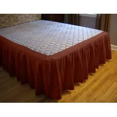 Підзор для ліжка Складки Модель 4 Винний